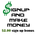 Sign Up and Make Money affiliate banner.
