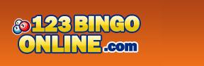 123 Bingo Online logo.