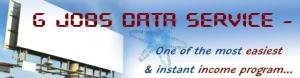 GJobs Data Service header image.